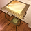 Thumbnail: Vintage Marble 2 Tier Plant Stand