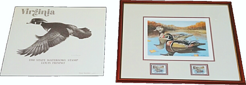 Louis Frisino 1990 Virginia Duck Stamp Art Print