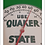 Thumbnail: Vintage Quaker State Motor Oil Thermometer/ Sign