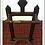 Thumbnail: Antique Mahogany Umbrella Stand/ Towel Rack