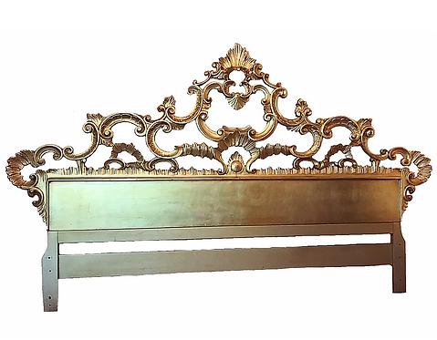 Rococo Gold King Headboard