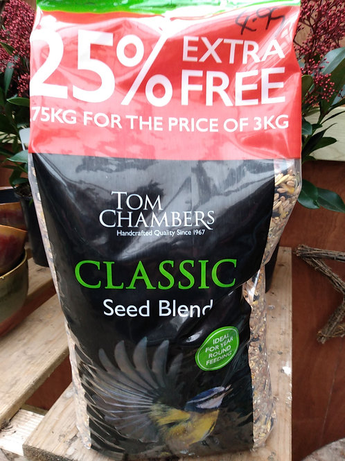 Classic seed blend 3.75kg