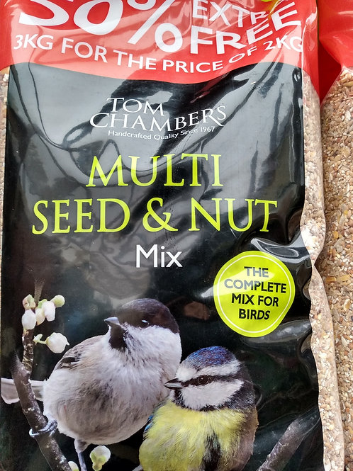 Multi seed and nut mix 3kg