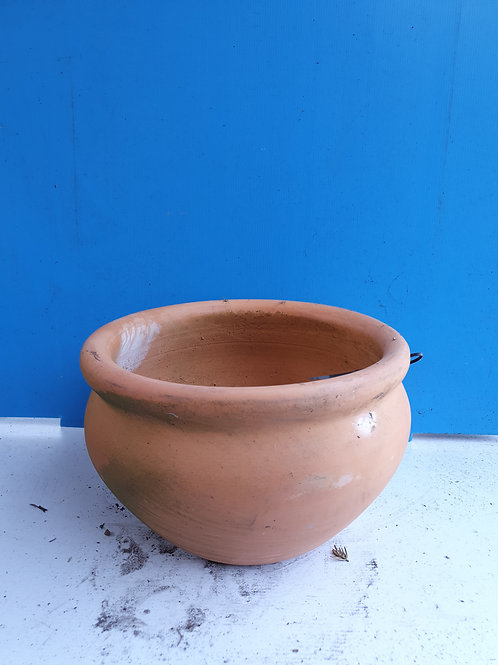 Terracotta rose bowl