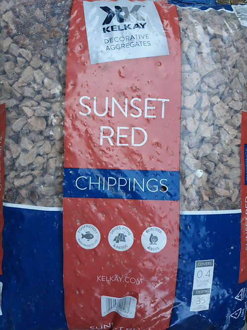 Red chippings 20kg