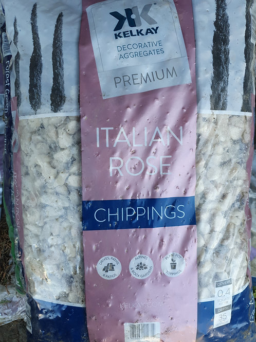 Italian rose chipping 35mm 20kg