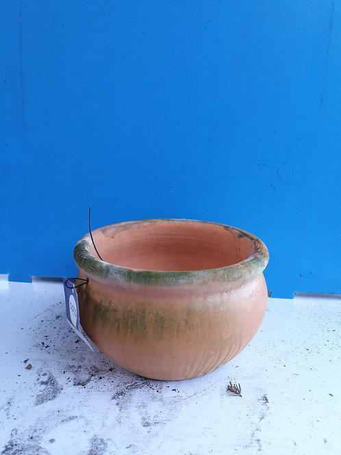Small rose terracotta rose bowl