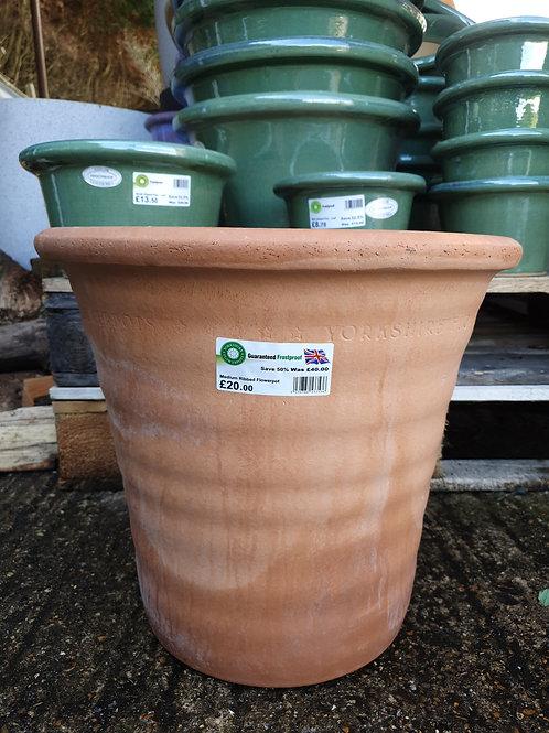 Yorkshire ribbed flower pot 36cmx40cm