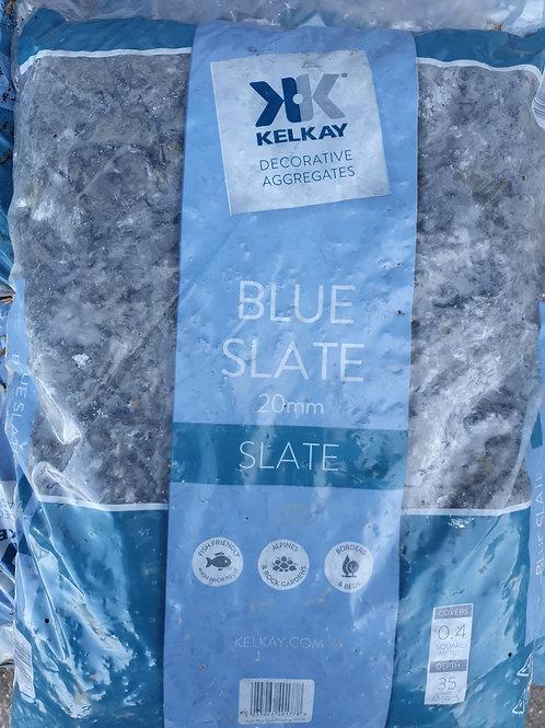 Blue slate 20mm 20kg