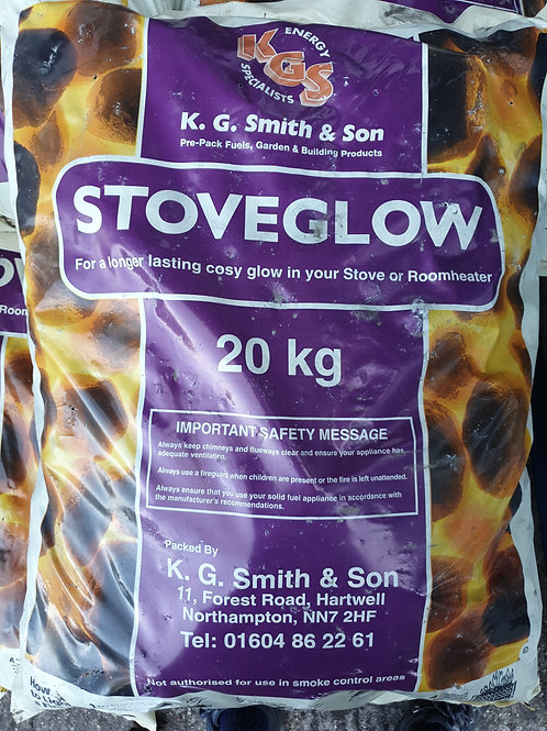 Stoveglow coal 20kg - last few to clear