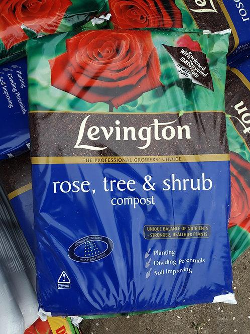 Levingtons rose,tree and shrub compost 50L
