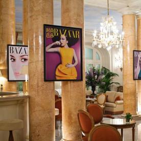 Harper's Bazaar at the Bristol in Paris