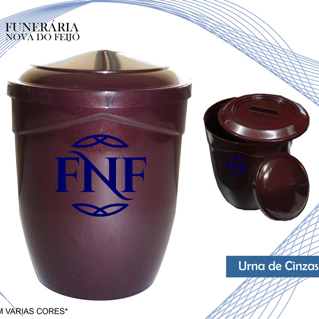 Urna Cinzas PVC