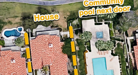 Areal View of the property