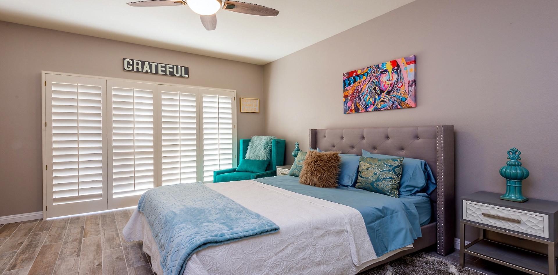Grateful Bedroom