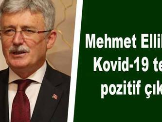 Mehmet Ellibeş'in Kovid-19 testi pozitif çıktı