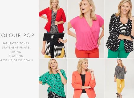 Colour Pop! Spring Summer 2020