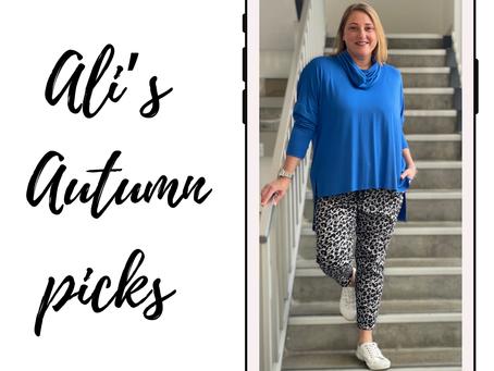 Ali's Autumn Picks