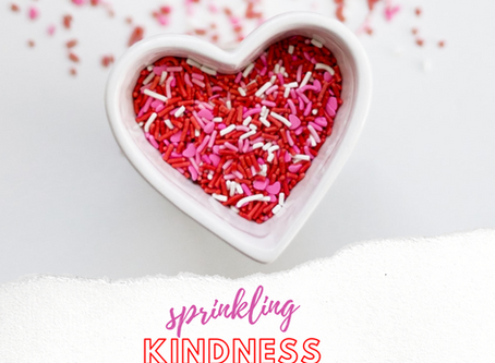Sprinkling Kindness Project - Collaboration Update!