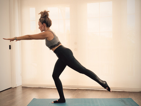 No Ballet Barre, No Problem--use many things in your home ( even the wall !)