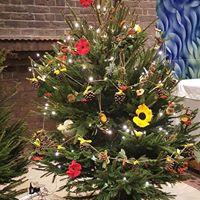 Christmas Tree for St. Cuthbert's Church