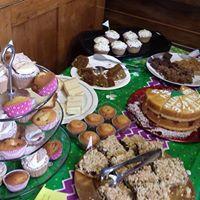 MacMillan Coffee Morning - cakes