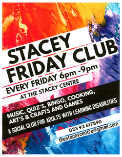 Friday Club Poster