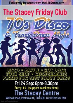 Friday Club 70s Disco Night 24 Sep