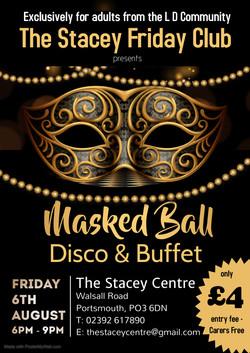 Friday Club Masked Ball