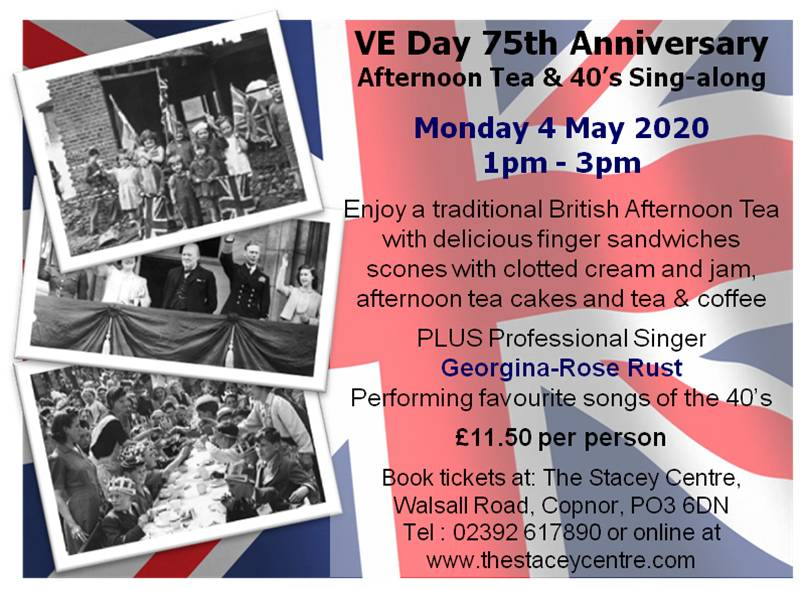 VE Day Afternoon Tea 4 May