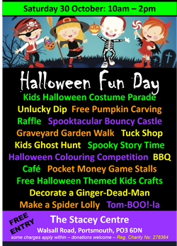 Halloween Fun Day Graphic PNG