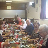 Lunch Club members