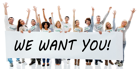 Volunteers Group - We Want You!
