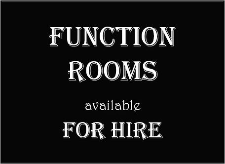 Function Room for Hire graphic