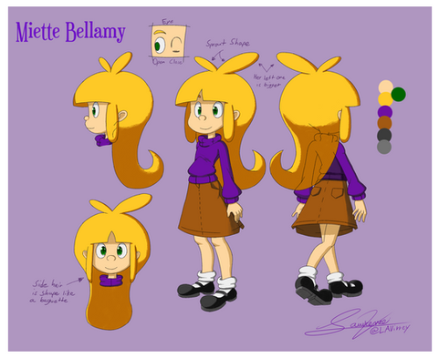 Miette Bellamy Character Sheet 1