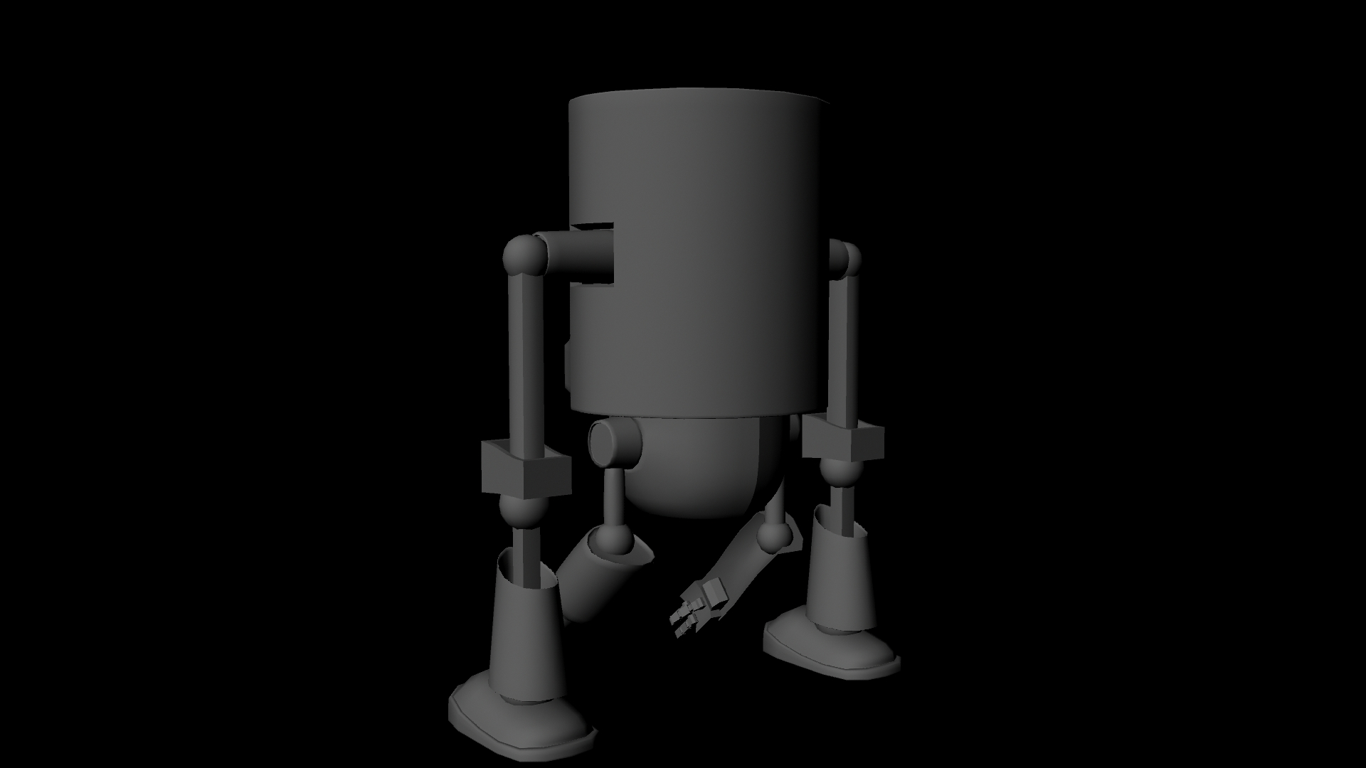 Screw Loose Base Model Back