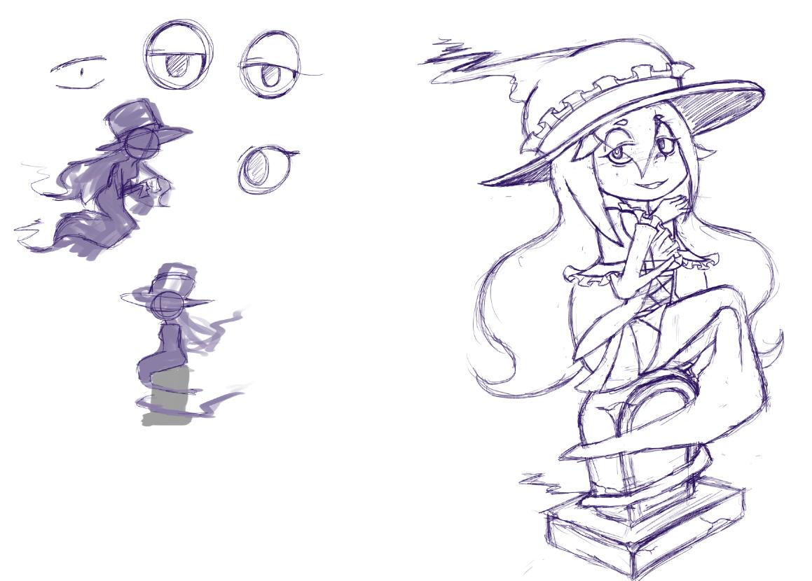 Celandine Concept Sketch 2
