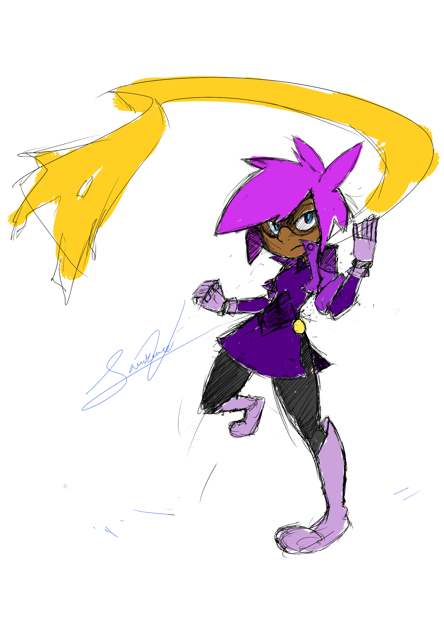 Ran Color Sketch