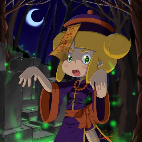 Halloween Jiangshi Miette