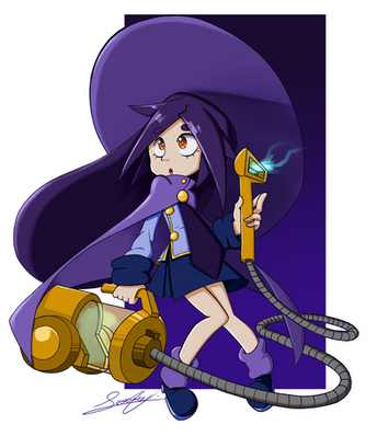 Janitor Witch