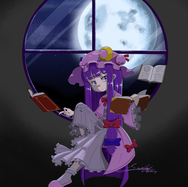 Patchouli Fan Art