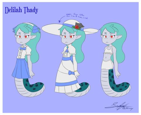 Delilah Thady Character Sheet 2