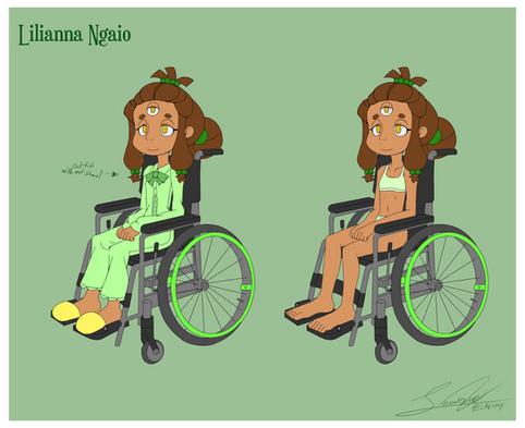 Lilianna Ngaio Character Sheet 2
