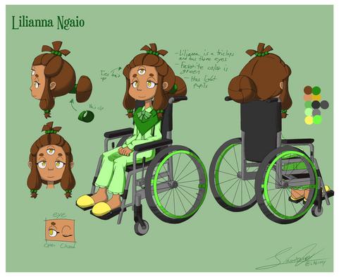 Lilianna Ngaio Character Sheet 1
