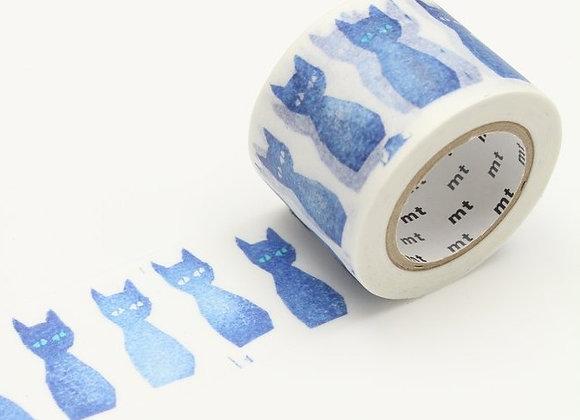 35mm Kuro-Neko Blue Cat