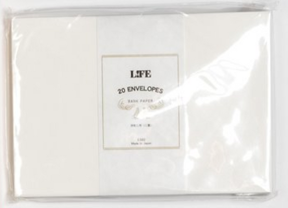 "Life ""bank paper""Envelope"