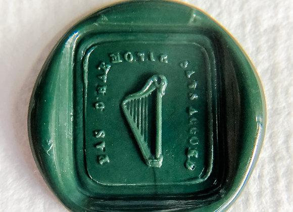 Harmony Harps in Caledonia Green