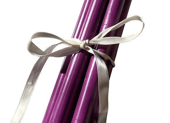 Venetian Carnival Purple Wax Stick
