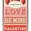 Thumbnail: Vintage Valentines Postcards Script