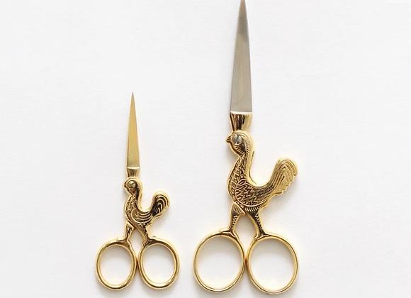 Rooster Scissors